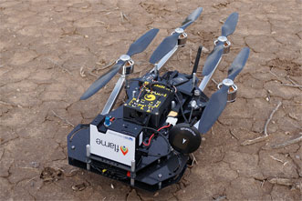 The Flame spectrometers will fly aboard TurboAce Matrix unmanned aerial vehicles.