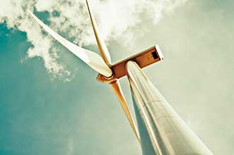 Fiber sensors can be used in structural health monitoring in wind turbines and elsewhere.