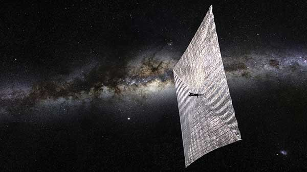 The Planetary Society's LightSail, packaged into a CubeSat,