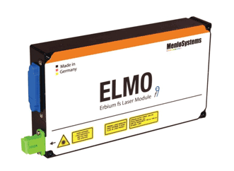 The ELMO femtosecond laser module from Menlo Systems is a femtosecond 'lightbulb' for OEM integration in optical systems like terahertz spectrometers or nonlinear microscopes.