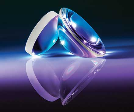 TechSpec® precision aspheric fused silica lenses are manufactured using precision grinding and polishing equipment.