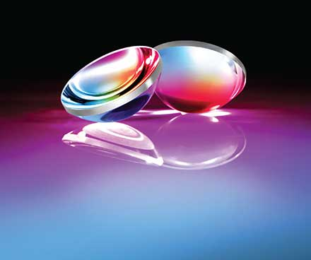 TechSpec® laser-line coated precision aspheric lenses are designed to maximize performance in high-power Nd:YAG laser applications.
