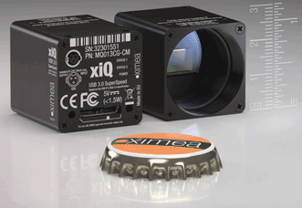 This ultracompact HSI camera from Ximea is designed for industrial uses including UAVs and drones.