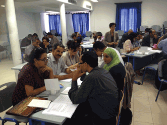 An ALOP workshop in Tunisia facilitated discussions about optics and other activities.