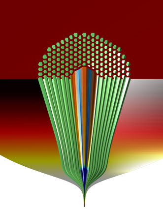 Photonic bandgap fiber