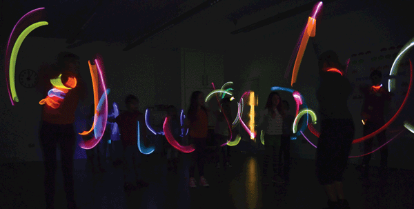 "The Dancing Light program taught children about the principles of light by learning to ""dance like a photon."""