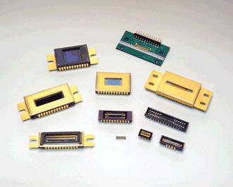 a lineup of image sensors