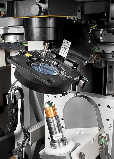 Stock optics can be customized by size, shape and edges, improving the surface figure or accuracy of the optical surface.