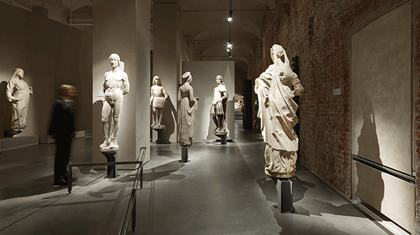 Austrian lighting manufacturer Zumtobel Group has set the course for visitors to experience an authentic and glare-free exploration of exhibits at the Museum of the Cathedral, located inside the Palazzo Reale in Milan.