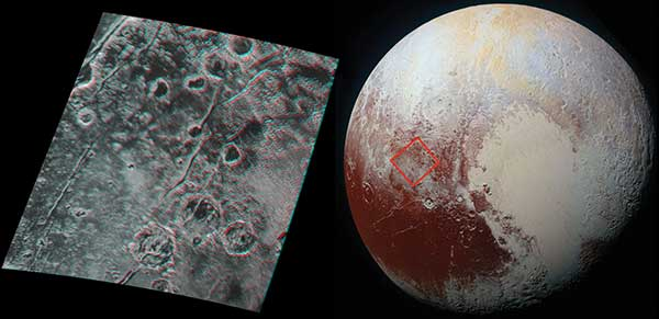 Global stereo mapping of Pluto's surface is now possible, as images taken from multiple directions are downlinked from NASA's New Horizons spacecraft.