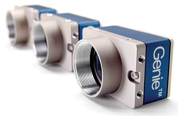 GigE Vision line-scan cameras are used in many industrial inspection applications.