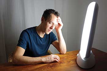 Recent studies show that cognitive-behavioral treatment tailored for seasonal affective disorder (CBT-SAD) and light therapy are 'comparably effective treatment modalities' for combating the winter blues. Devices that are more convenient to use or that provide a luxurious experience may help the light box industry maintain an advantage over CBT-SAD.
