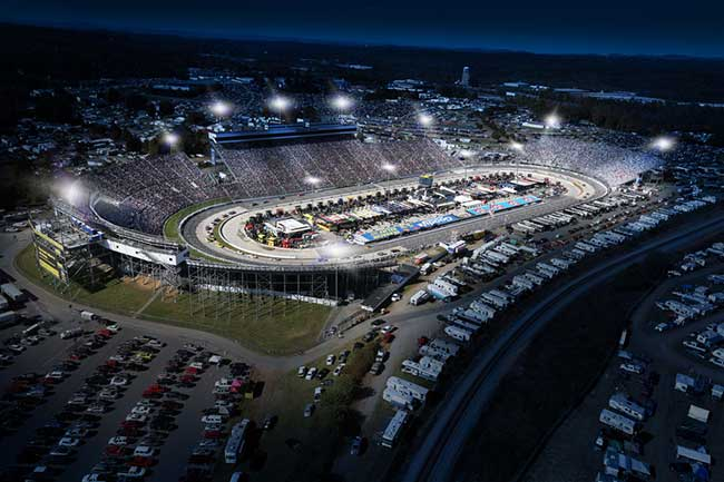 Martinsville NASCAR Track to Upgrade with LEDs
