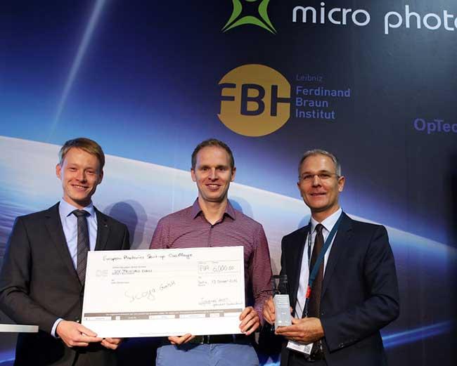 Sicoya Wins European Photonics Startup Challenge