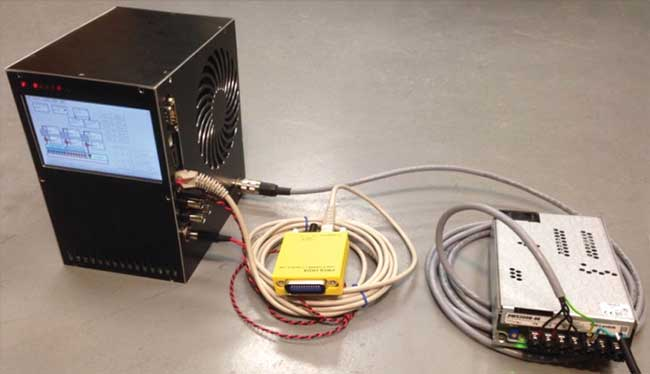 Tunable laser system with the additional power supply.