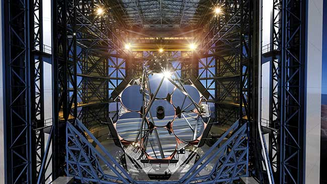The Giant Magellan Telescope is a segmented mirror telescope that employs seven of today's largest stiff monolith mirrors as segments.