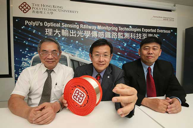 PolyU to Install Fiber Sensing Technology in Singapore's Transit System