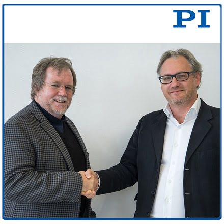Scott Jordan (left) and PI's VP, Sales & Marketing, Stephane Bussa (right)