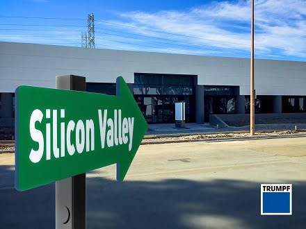 Trumpf opens new technology and laser center in the Silicon Valley.