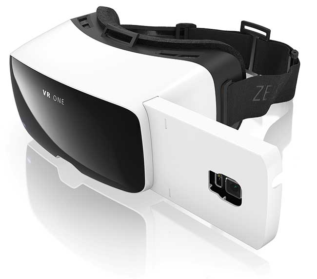 Modern 3D virtual reality (VR) system.