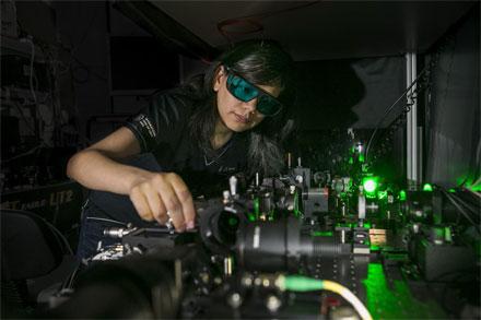 ANU researcher Maria del Rocio Camacho-Morales
