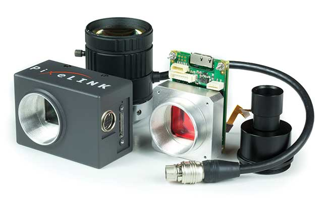 An autofocus camera available enclosed or board level.