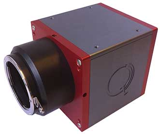 Quest Innovations BV's Hyperea42, a visible-NIR range hyperspectral camera for both UAV and industrial applications.