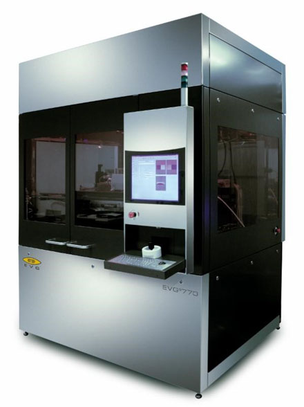 The EVG770 automated UV nanoimprint lithography step-and-repeat system.