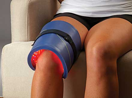 The Celluma light therapy technology by BioPhotas Inc. can be used to treat arthritis, muscle spasm, muscle/joint pain and stiffness, muscle tissue tension, diminished local circulation, and for post-surgical healing.