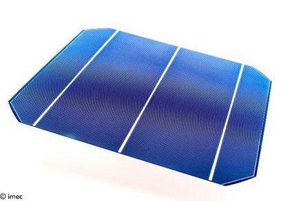 imec solar cell
