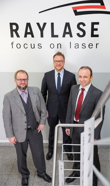 Raylase AG has appointed Philipp Schön, Christoph von Jan and Berthold Dambacher to its executive board.