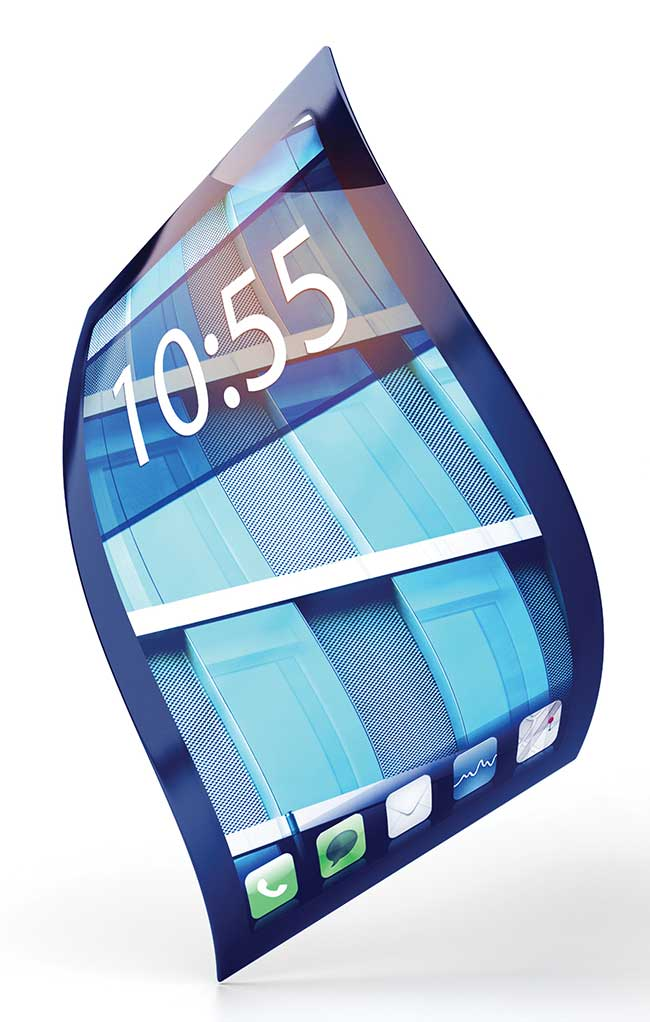 Bendable and lighter smartphone and laptop screens are just one of the many applications of graphene.