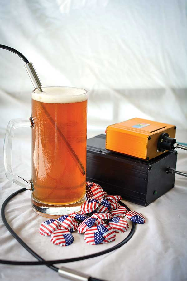 An explosion in American craft breweries has created the need for spectroscopy-based quality control systems.