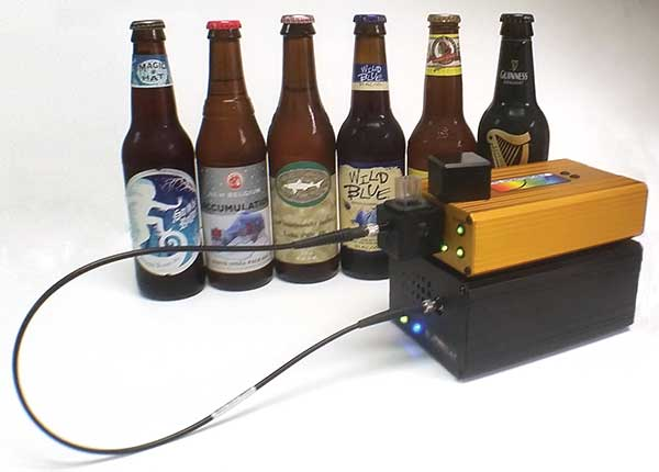UV-VIS spectroscopy can provide carbohydrate content, and analyze bitterness in the wort (also referred to as pre-fermented beer) or in finished beer.