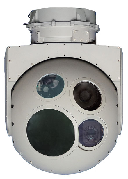 The DSP-HD electro-optical/IR camera.