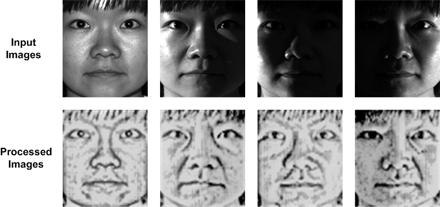 Invariant illumination face recognition outdoors