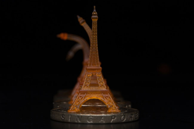 A shape-memory Eiffel tower was 3D printed