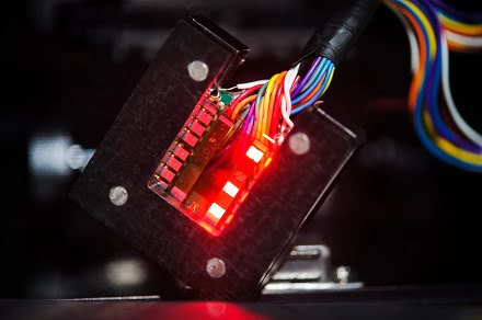 New type of LED made with crystalline perovskites.