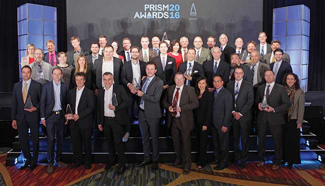Winners of the 2016 Prism Awards.