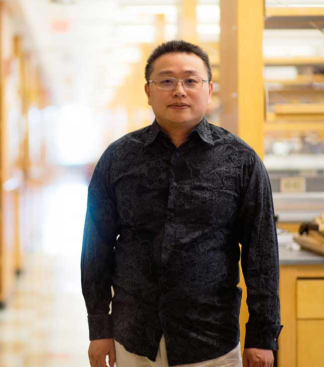 UMass Medical School scientist Gang Han.