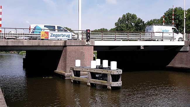 Zegerbrug Bridge, Alphen aan den Rijn, Netherlands.