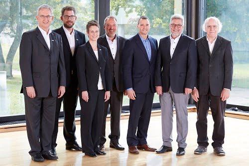 Michael Unger, Florian Hermle, Katrin Stegmaier-Hermle, Uwe Furtner, Erhard Meier, Gerhard Thullner, Werner Armingeon. Courtesy of Matrix Vision.