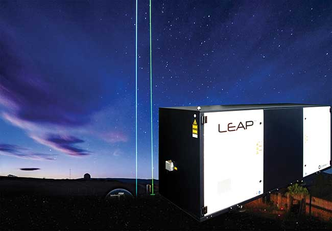 A 308-nm LEAP excimer laser for high-power lidar for ozone and water.