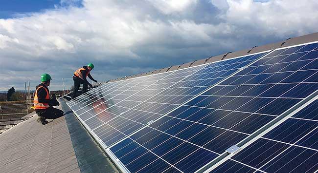 solar photovoltaic installation