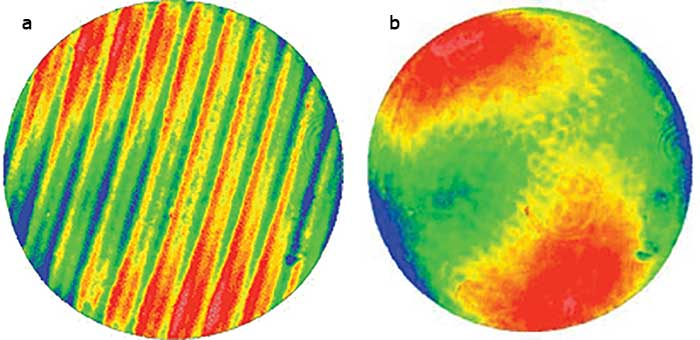 Data taken with phase-shifting interferometry