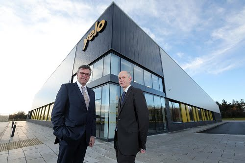 Yelo officially opens its new $2.7 million factory in Northern Ireland
