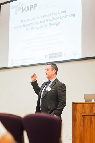 Professor Iain Todd, director of MAPP addresses delegates.