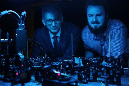 Ebrahim Karimi and Frederic Bouchard of University of Ottawa