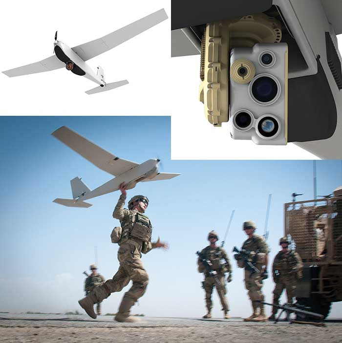AeroVironment's Puma AE is equipped for land and maritime operations.
