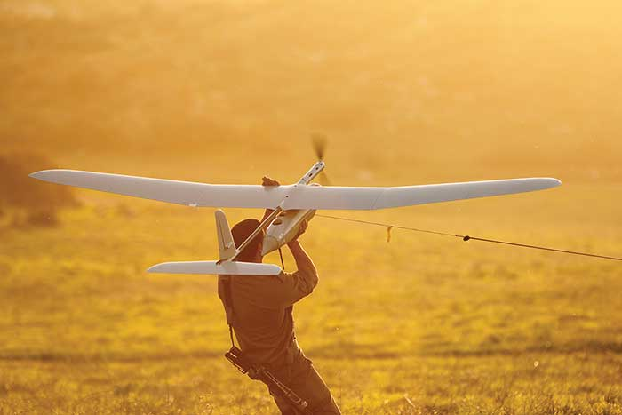Defense Drones Take Sensing to New Heights